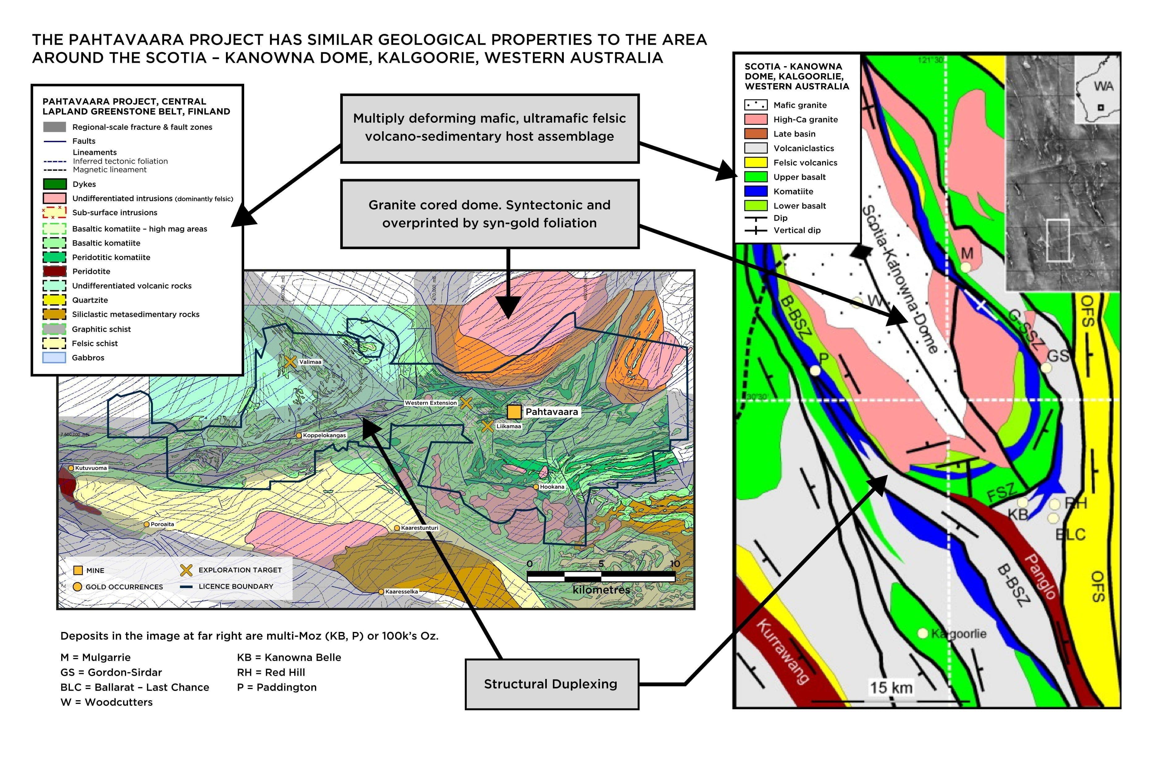 pahtavaara geology exploration rupert resources